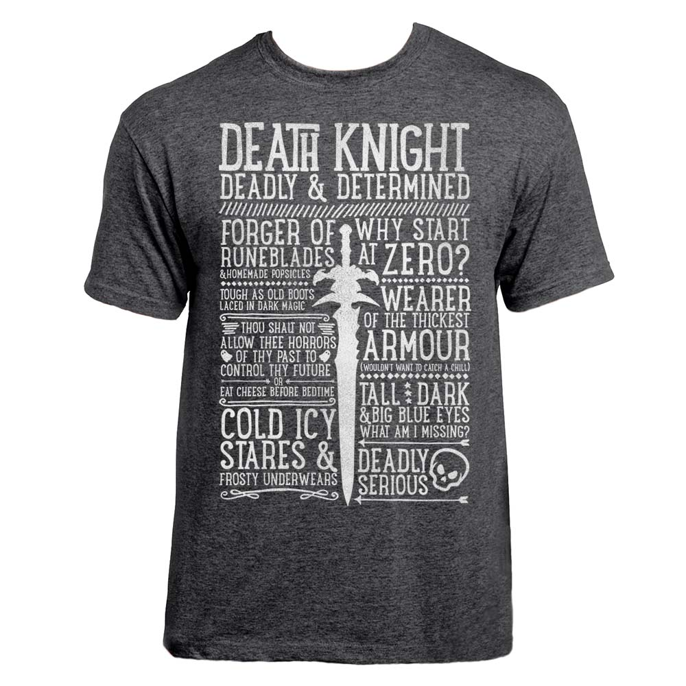Death Knight Class T Shirt Realm One