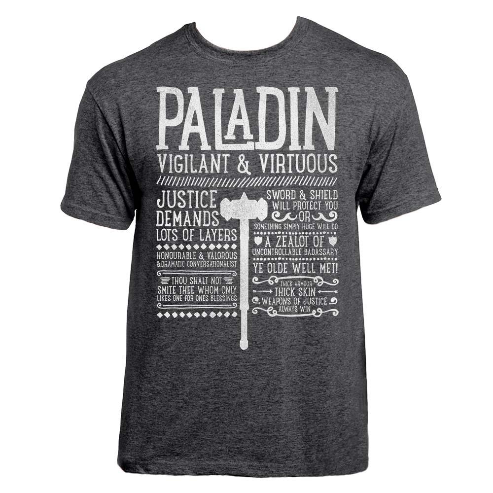 95fde6a19 Paladin Class T-shirt - Realm One