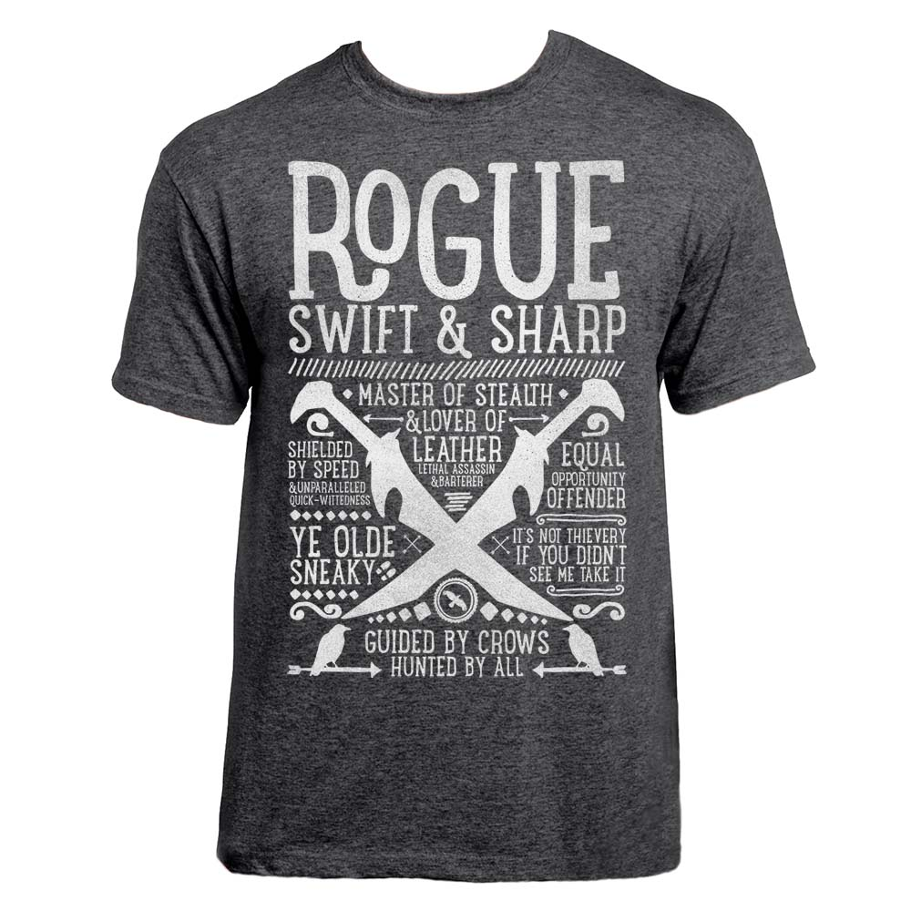 24d0009fa1be Rogue Class T-shirt - Realm One