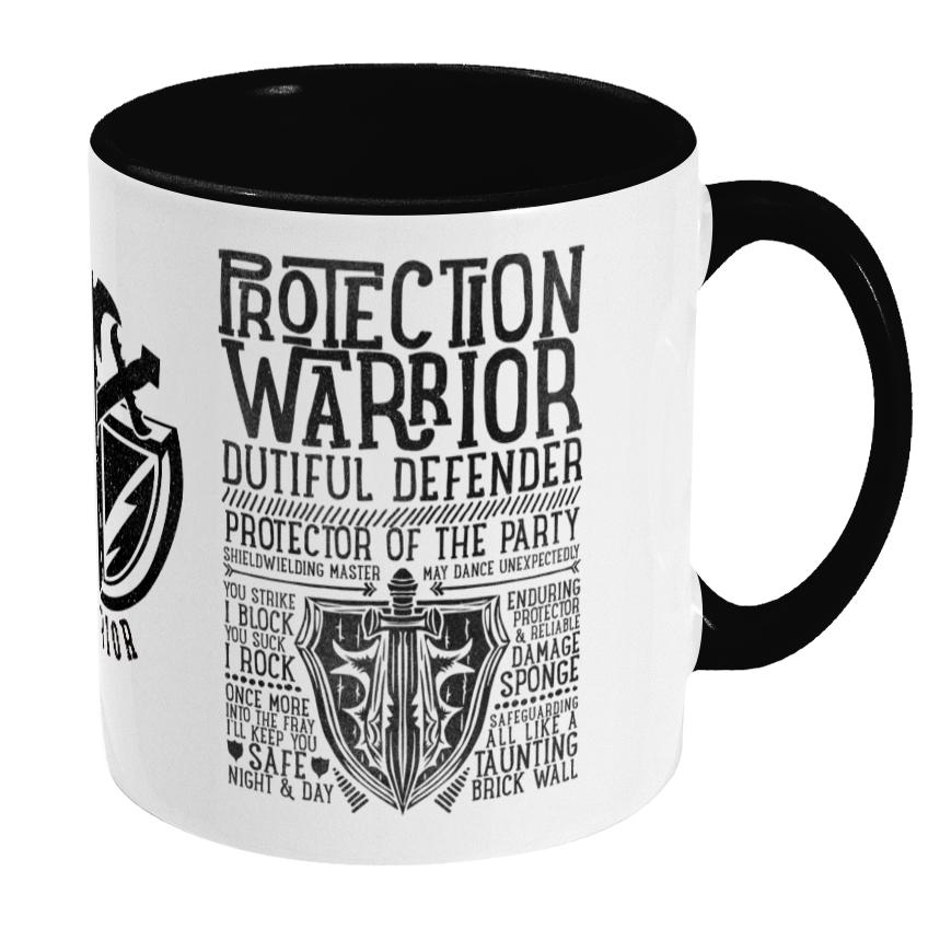 Protection Warrior Mug